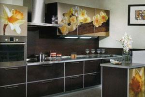 Кухня с фотопечатью - 4