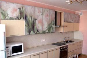 Кухня с фотопечатью - 5
