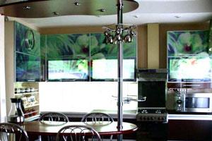 Кухня с фотопечатью - 6