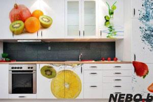 Кухня с фотопечатью - 7