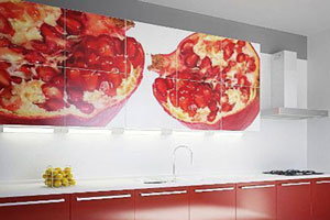 Кухня с фотопечатью - 8