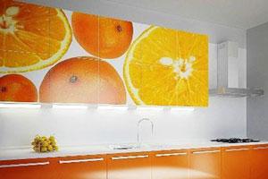 Кухня с фотопечатью - 9