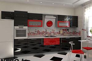 Кухни из крашенного МДФ - 13
