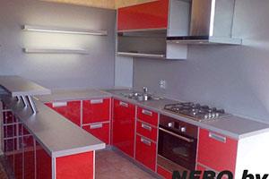 Кухни из крашенного МДФ - 14