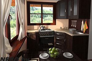 Небольшая кухня - 4