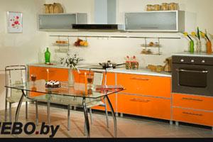 Оранжевые кухни - 2