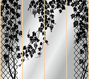 Пескоструй - Цветы - 4269