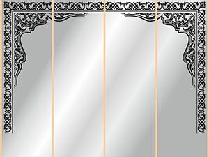 Рамки для пескоструя - 3144