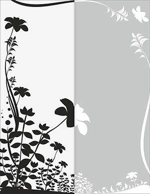 Пескоструй - Цветы - 5584