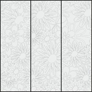 Пескоструй - Цветы - 3243