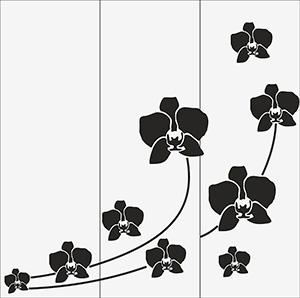 Пескоструй - Цветы - 5054