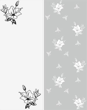 Пескоструй - Цветы - 4983