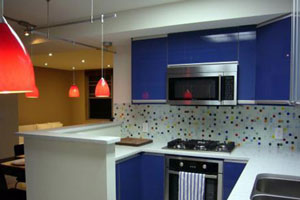 Синие кухни - 1