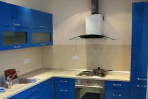 Синие кухни - 4