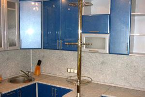 Синие кухни - 5
