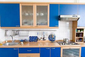 Синие кухни - 6