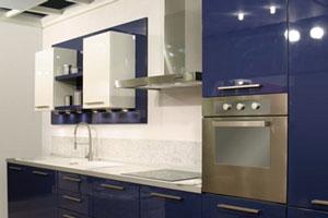 Синие кухни - 7