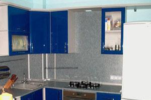 Синие кухни - 9